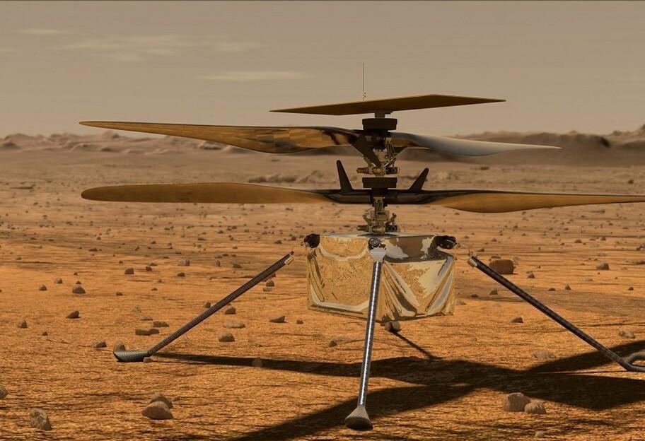 В NASA показали, как выглядит вертолет Ingenuity – трехмерное фото - фото 1