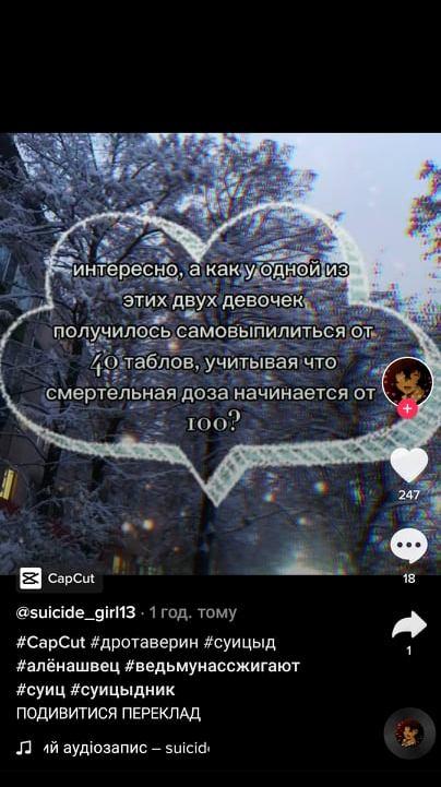 Українським підліткам загрожує новий смертельний ТікТок-челендж