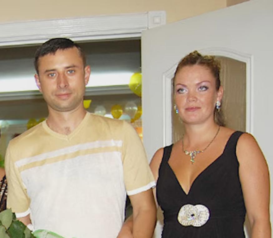 Супруги Михаил Буров и Евгения Фрига