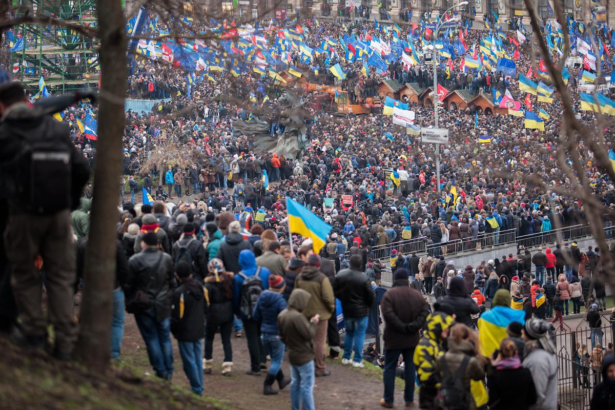 Евромайдан. Фото: Википедия