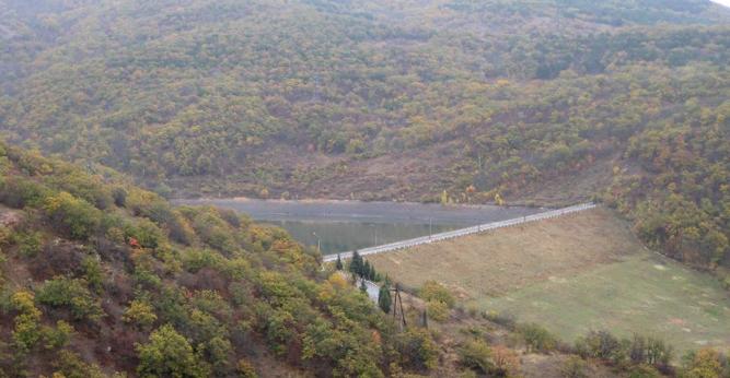 Верхнекутузовское водохранилище