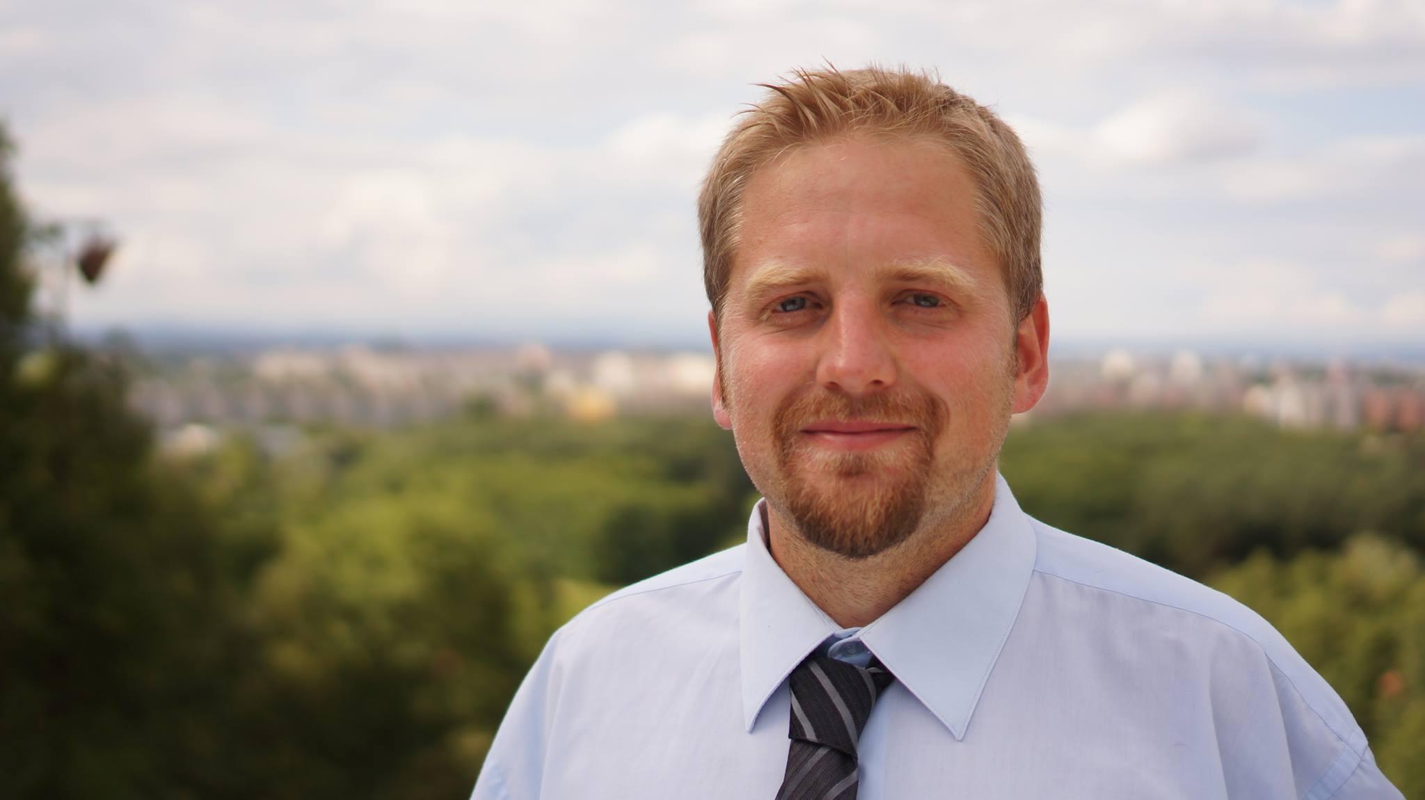 Вит Едличка — самопровозглашенный президент Либерленда. Фото: Jan Husák
