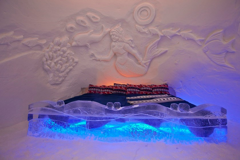 Kirkenes Ice Snow в Норвегии. Фото: Norwaytours