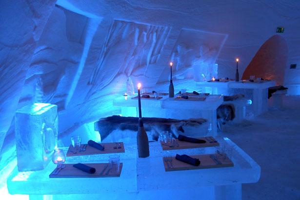 Снежный отель в Финляндии. Фото: Dacatravel