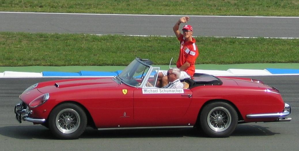 Михаэль Шумахер. Фото: Википедия