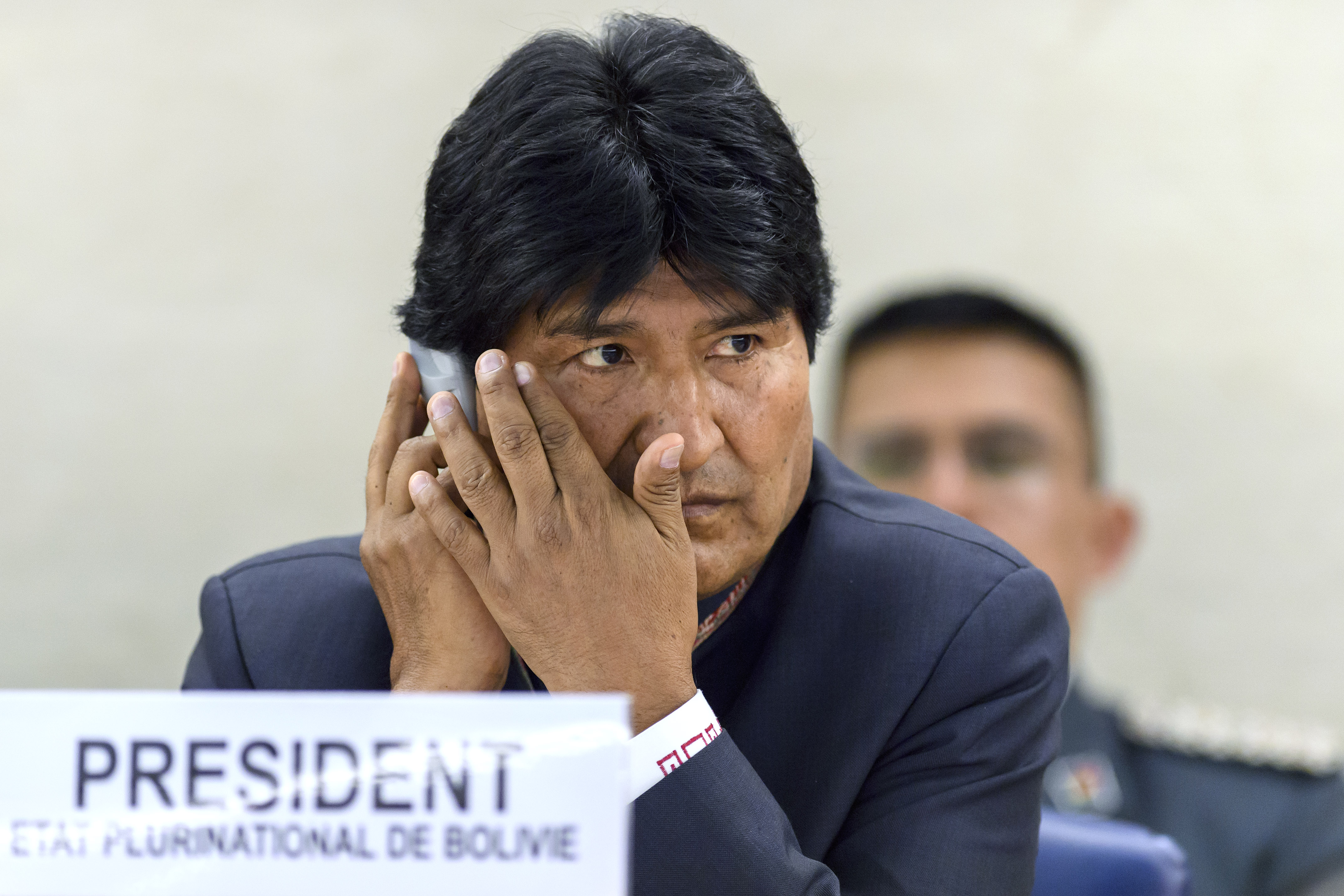 Президент Боливии Эво Моралес. Фото: EPA/MARTIAL TREZZINI