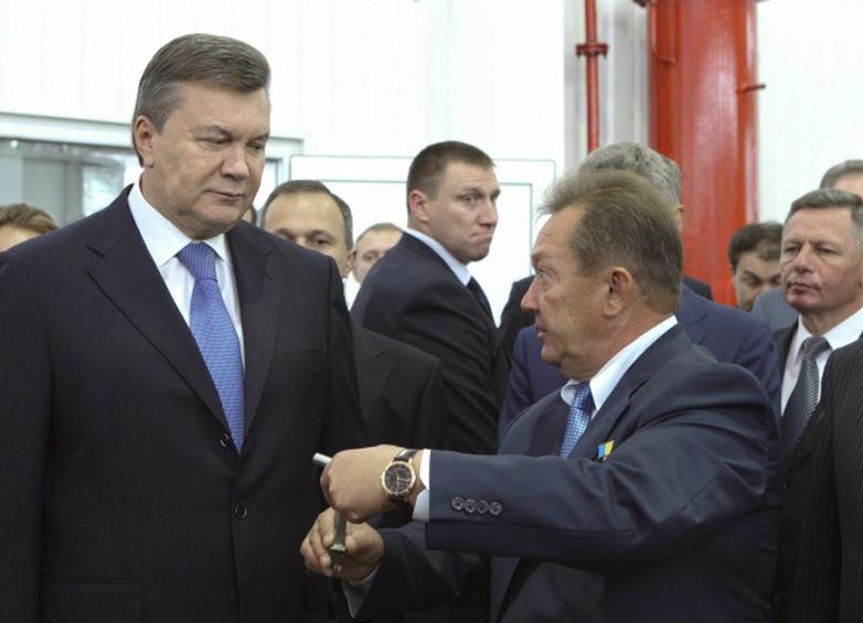 Виктор Янукович и Николай Матрунчик