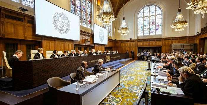 Заседание международного криминального суда в Гааге. Фото: из открытых источников
