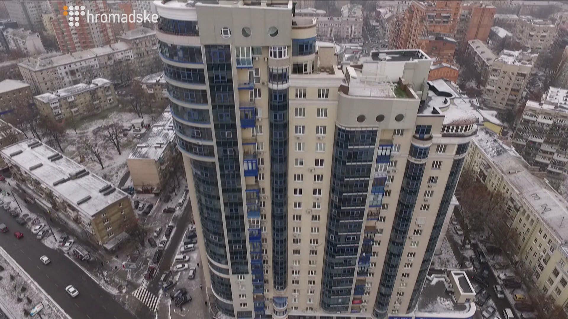 Дом на улице Московской, где находится 4-комнатная квартира Кириленко