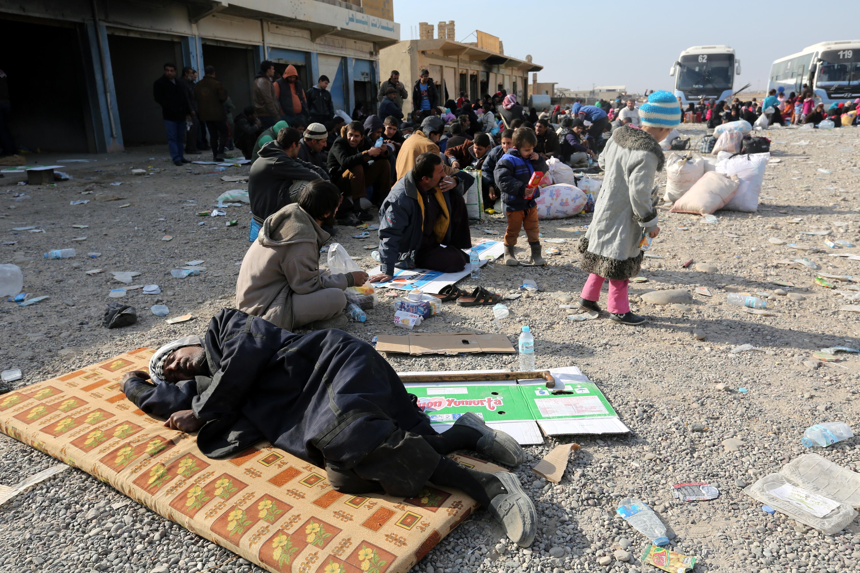 Внутренние переселенцы в Ираке. Фото: ЕРА