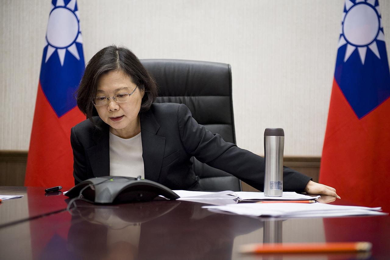 Фото:  EPA/OFFICE OF THE PRESIDENT OF TAIWAN