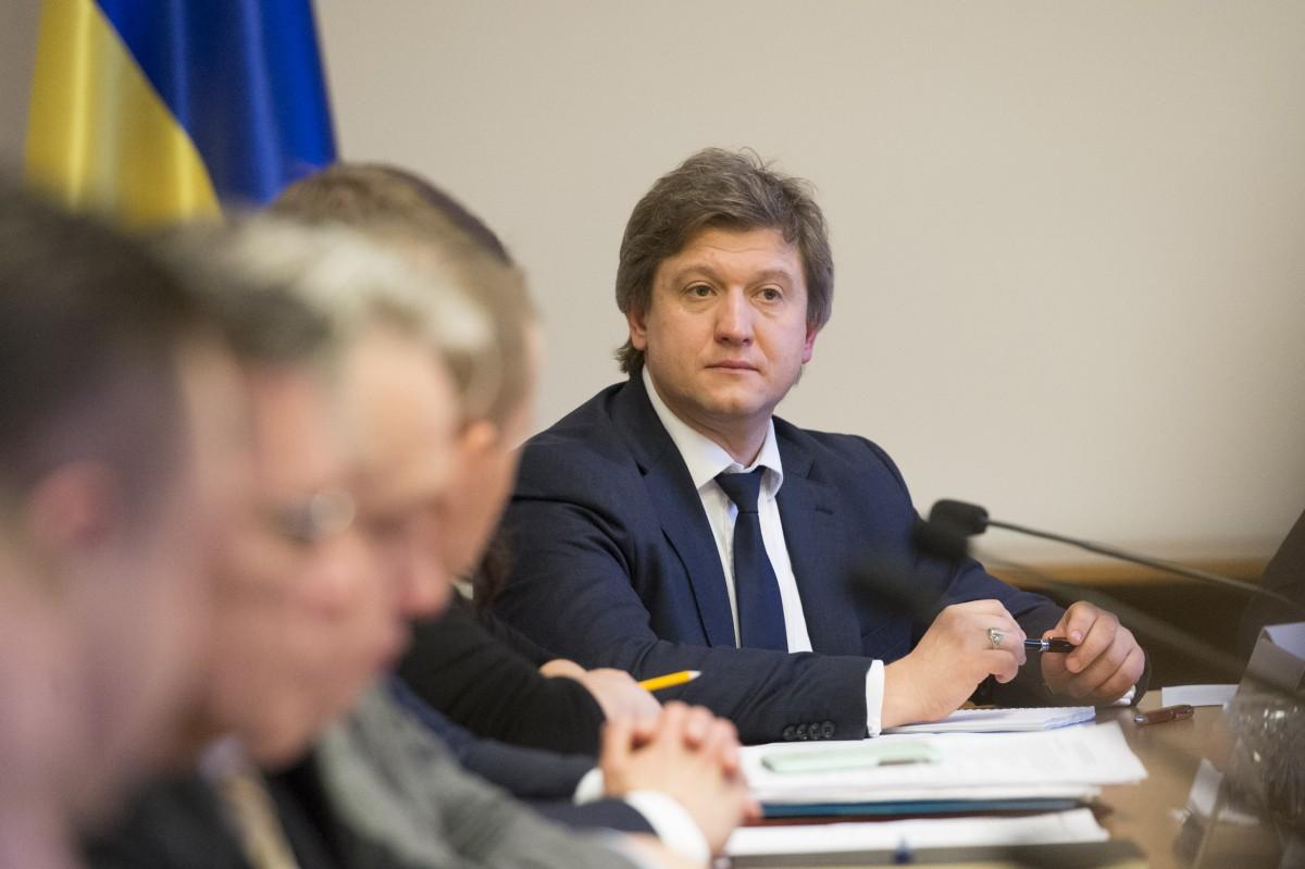 Министру финансов Александру Данилюку пришлось просить депутатов увеличить расходы госбюджета на субсидии Фото: пресс-служба Министерства финансов