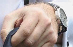 Часы Охендовского стоимость $50-60 тыс. Фото: Влад Содель