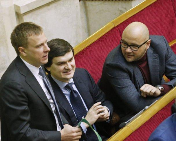 Виталий Хомутынник (слева) и Дмитрий Святаш (справа)