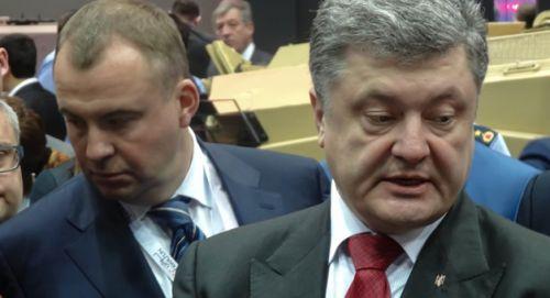 Гладковский и Порошенко