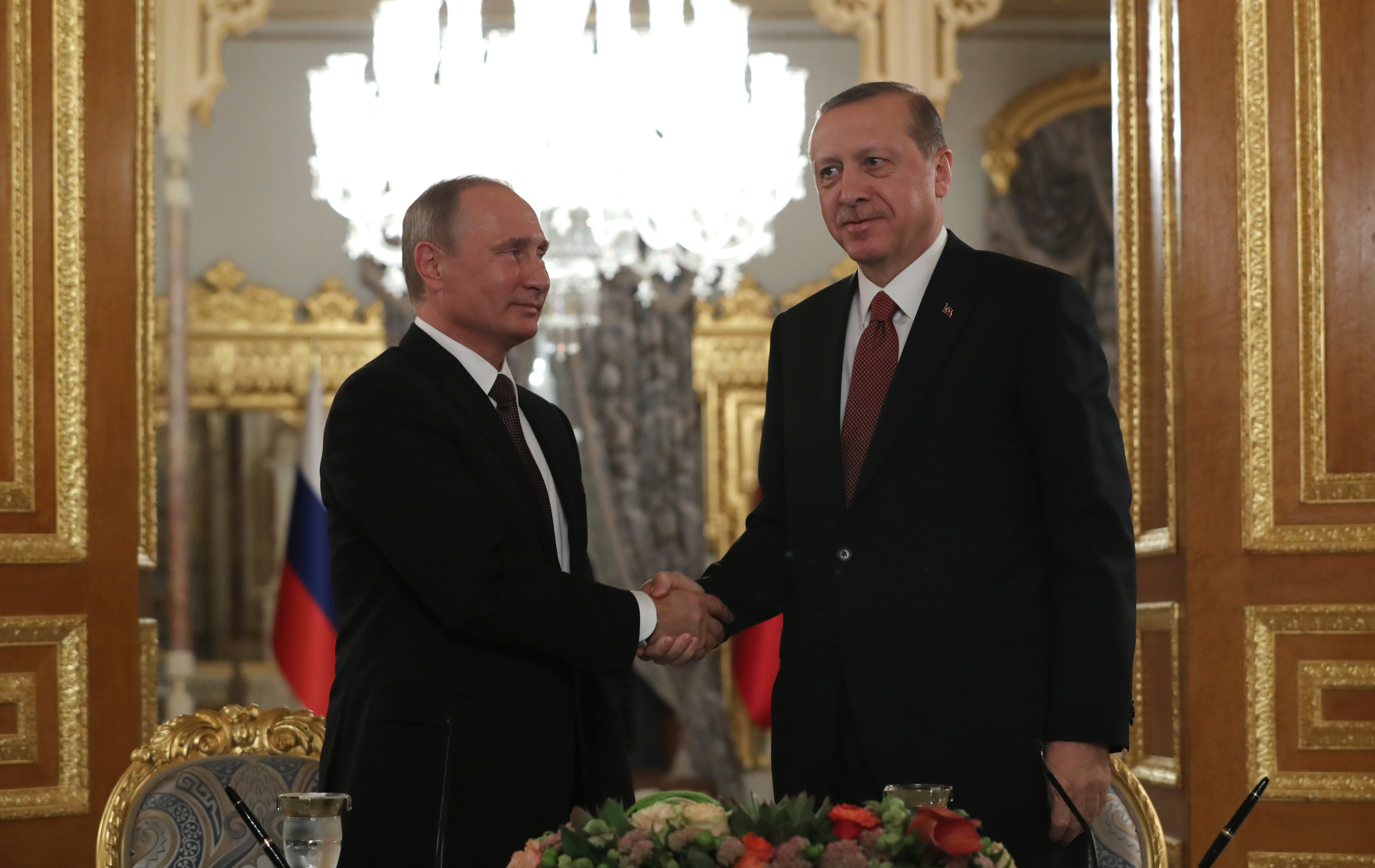 Владимир Путин и Реджеп Тайип Эрдоган Фото: EPA