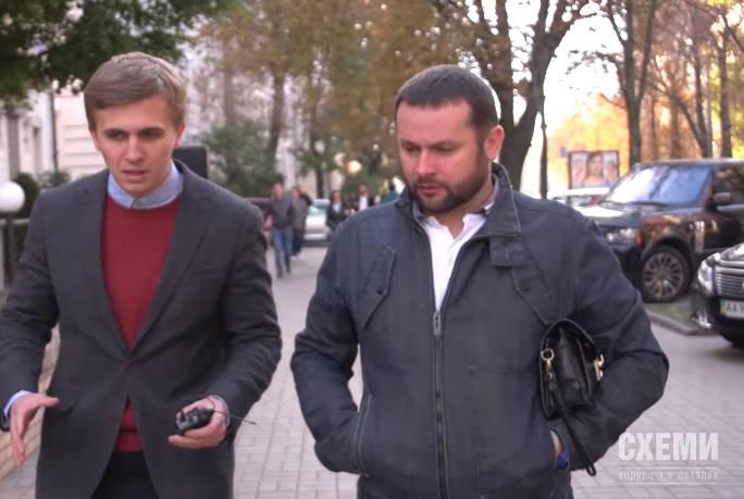 Журналист Михаил Ткач и работник СБУ Иван Порада