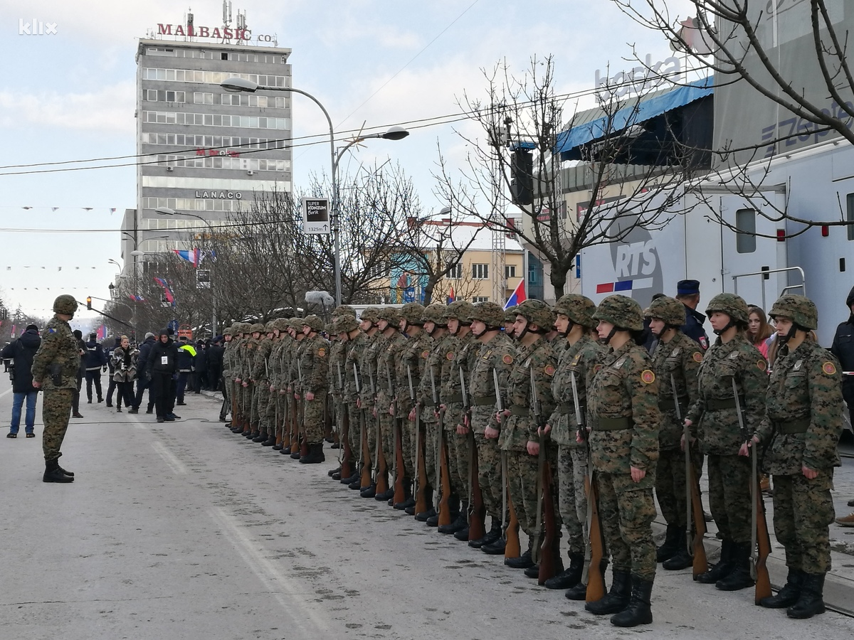 """Парад"" в Банья Луке. Фото Elmedin Mehić/Klix.ba"
