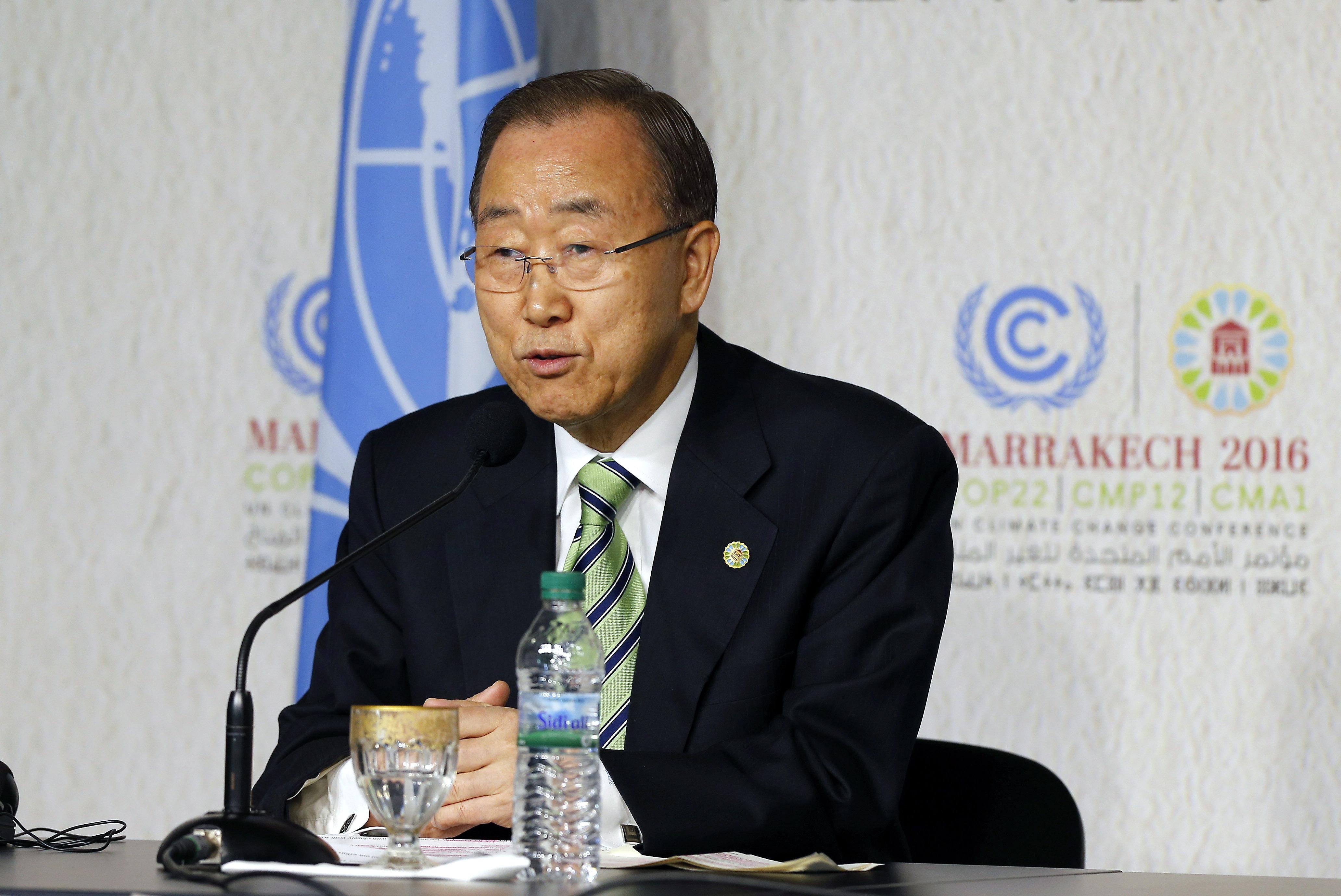 Бывший генсек ООН Пан Ги Мун. Фото: EPA