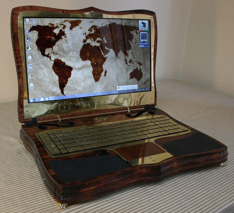 Ноутбук своими руками стимпанк 37