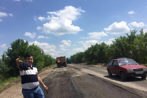 Михеил Саакашвили планировал построить дорогу Одесса - Рени за счет сверхплановых поступлений с таможни