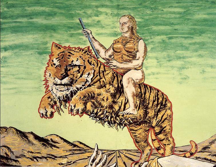 Картина Арсена Савадова и Георгия Сенченко «Печаль Клеопатры»