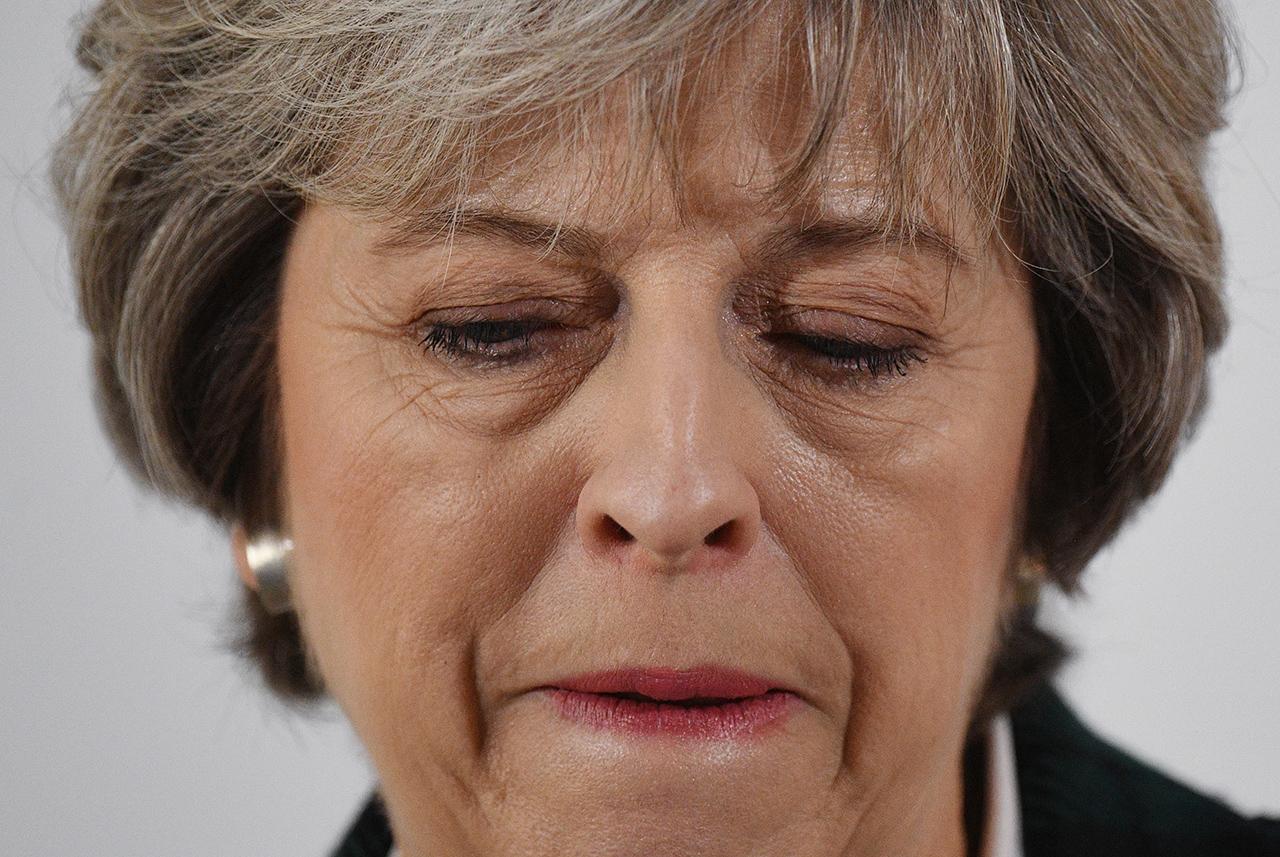 Британский премьер Тереза Мэй Фото: EPA/FACUNDO ARRIZABALAGA / POOL