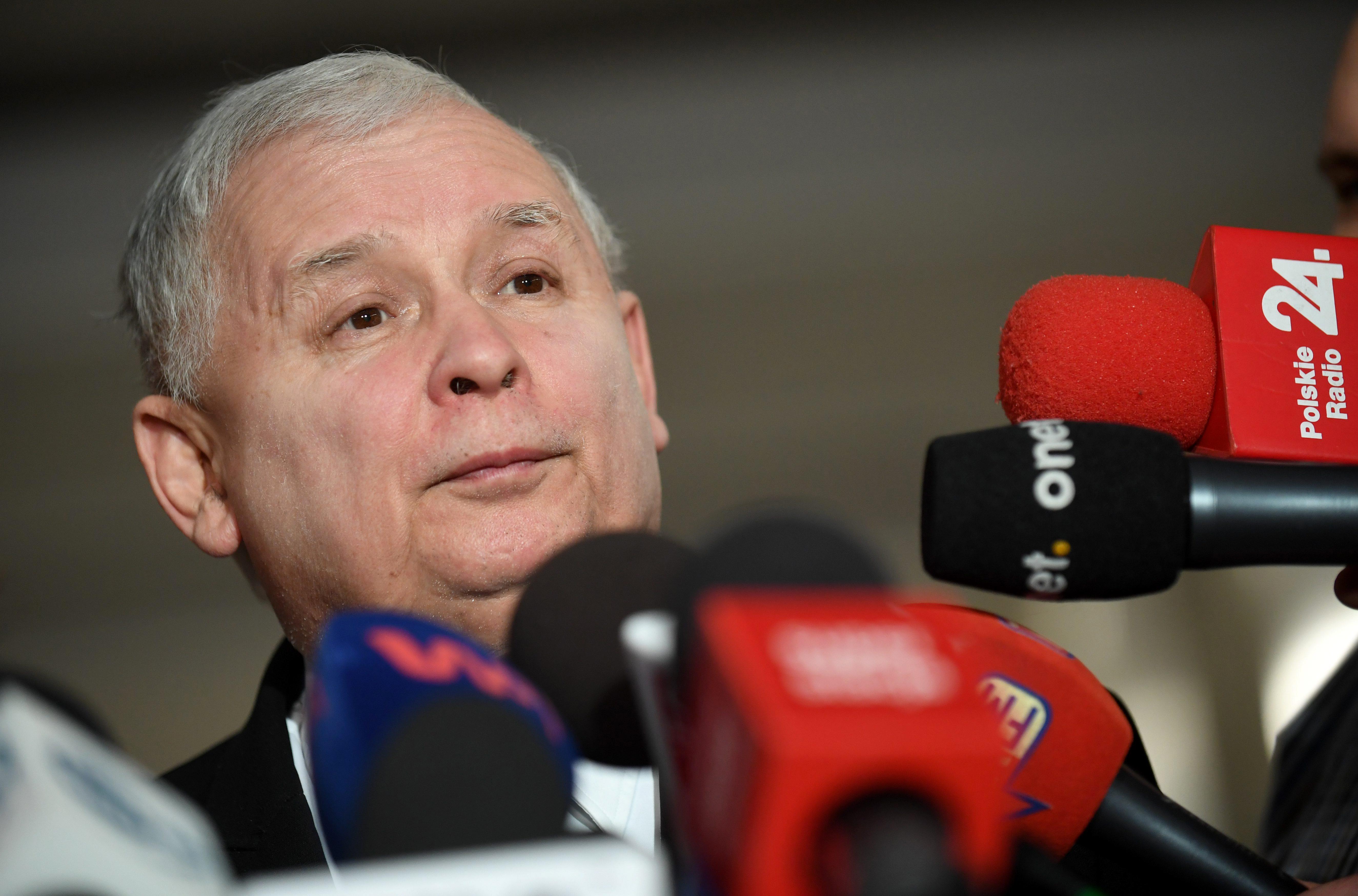 Ярослав Качиньский. Фото: EPA