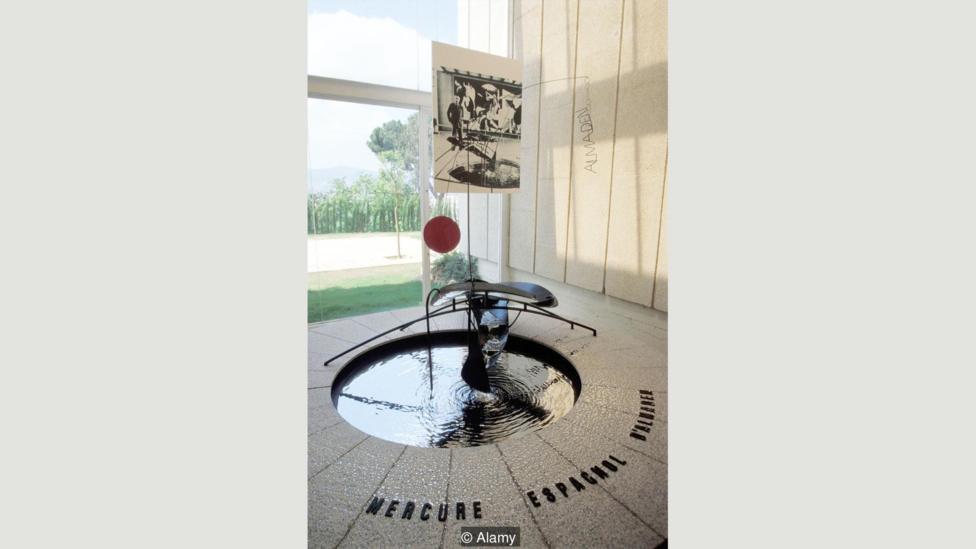 Ртутный фонтан «Меркурий», Александр Колдер