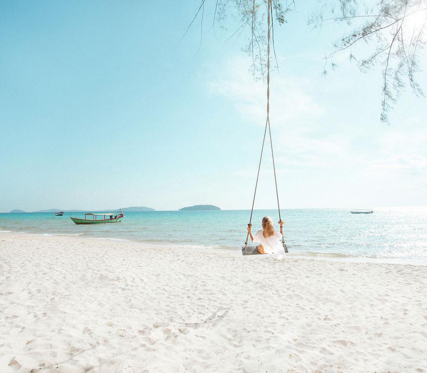 Пляж Отрес, Сиануквиль, Камбоджа