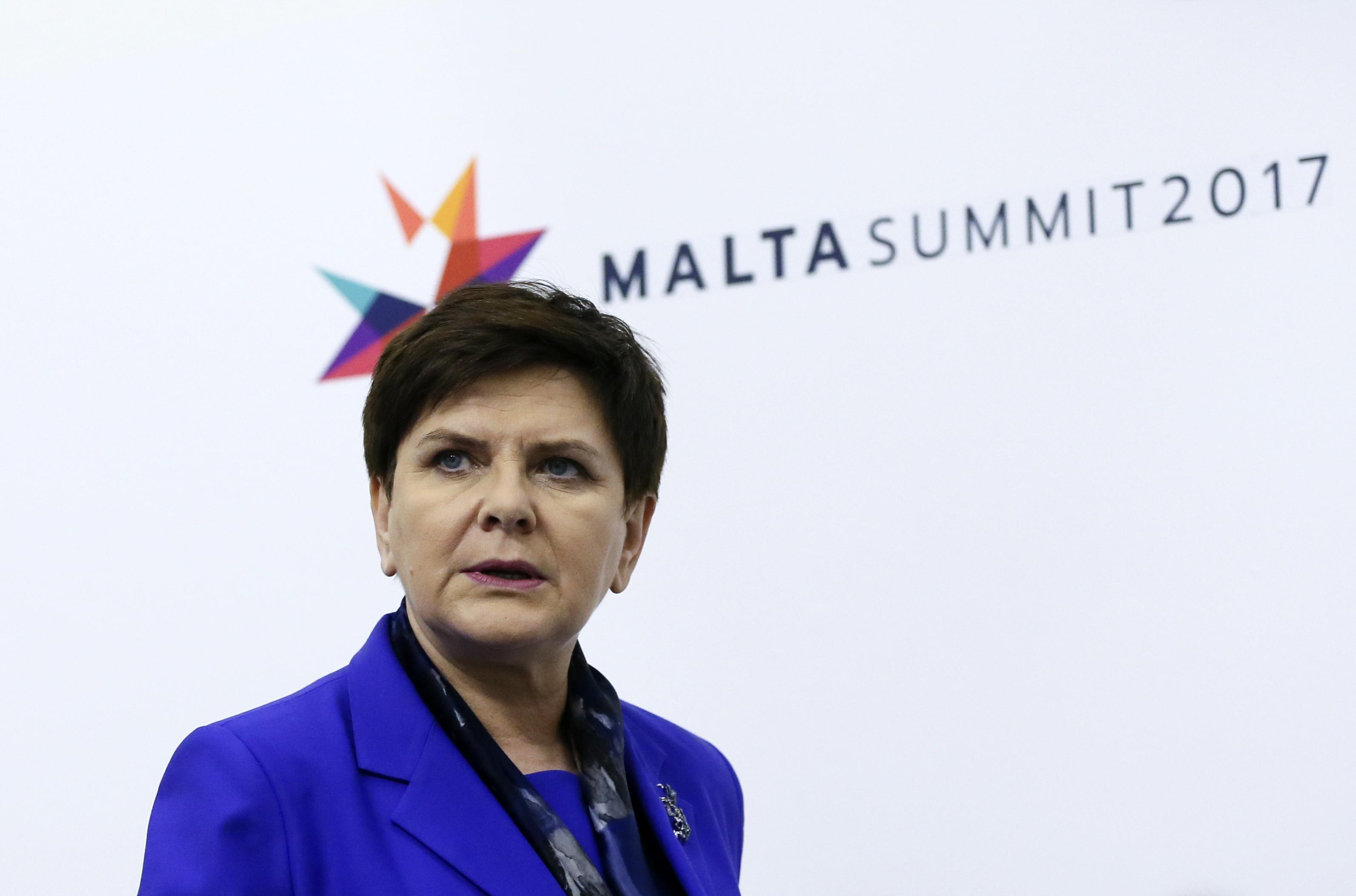 Премьер-министр Польши Беата Шидло. Фото: EPA