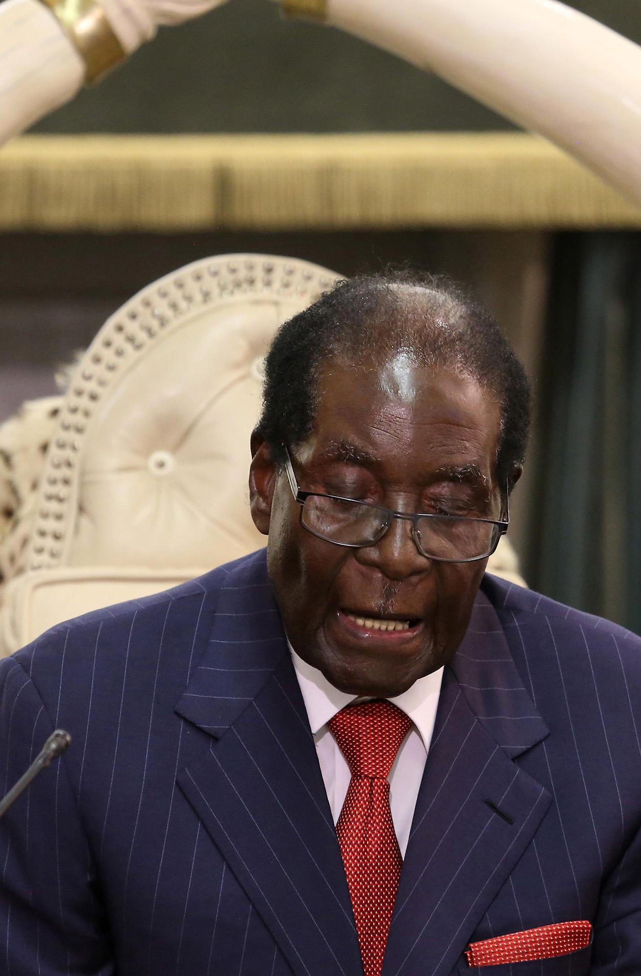Роберт Мугабе, EPA