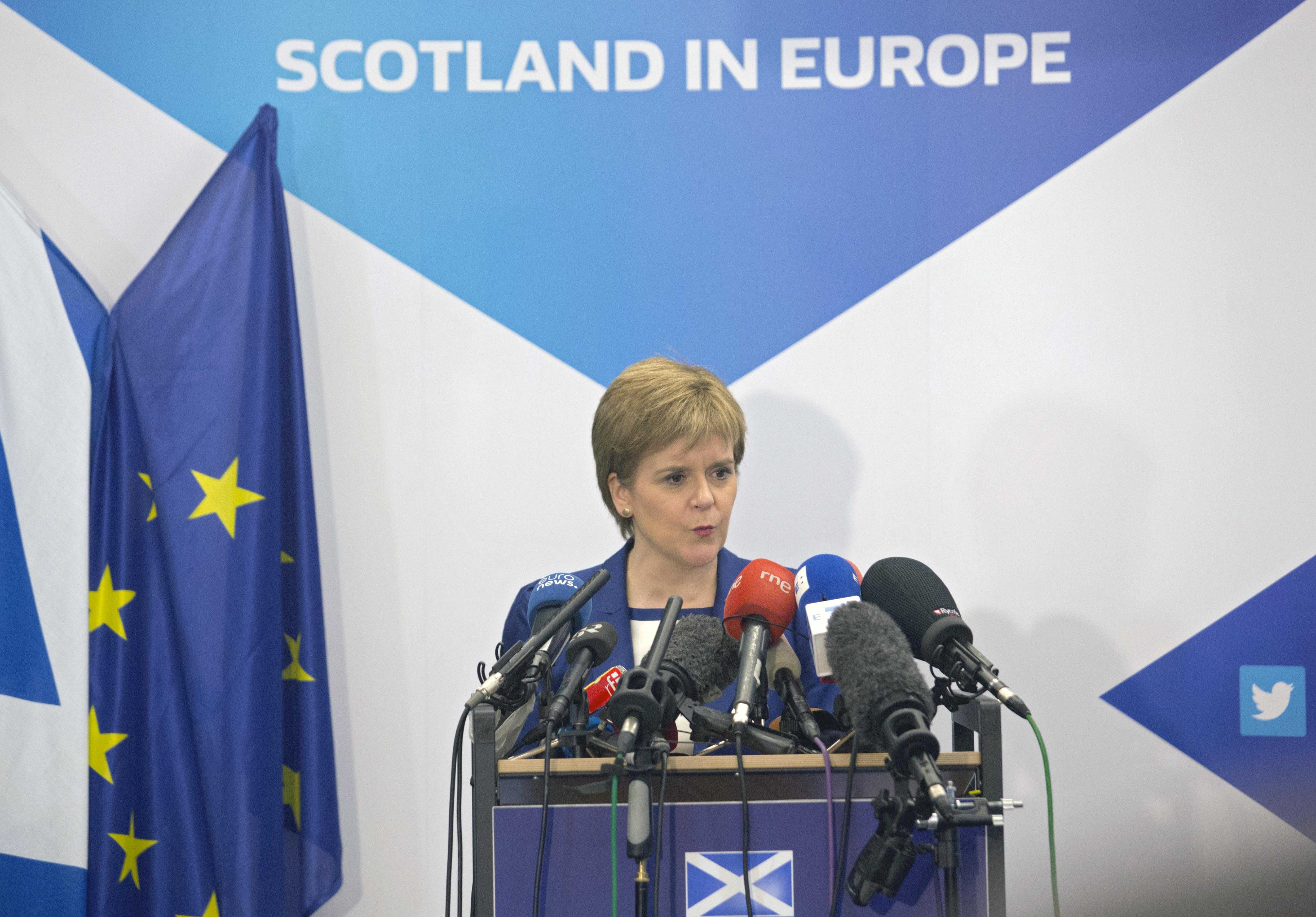 Премьер-министр Шотландии Никола Стерджен. Фото: EPA