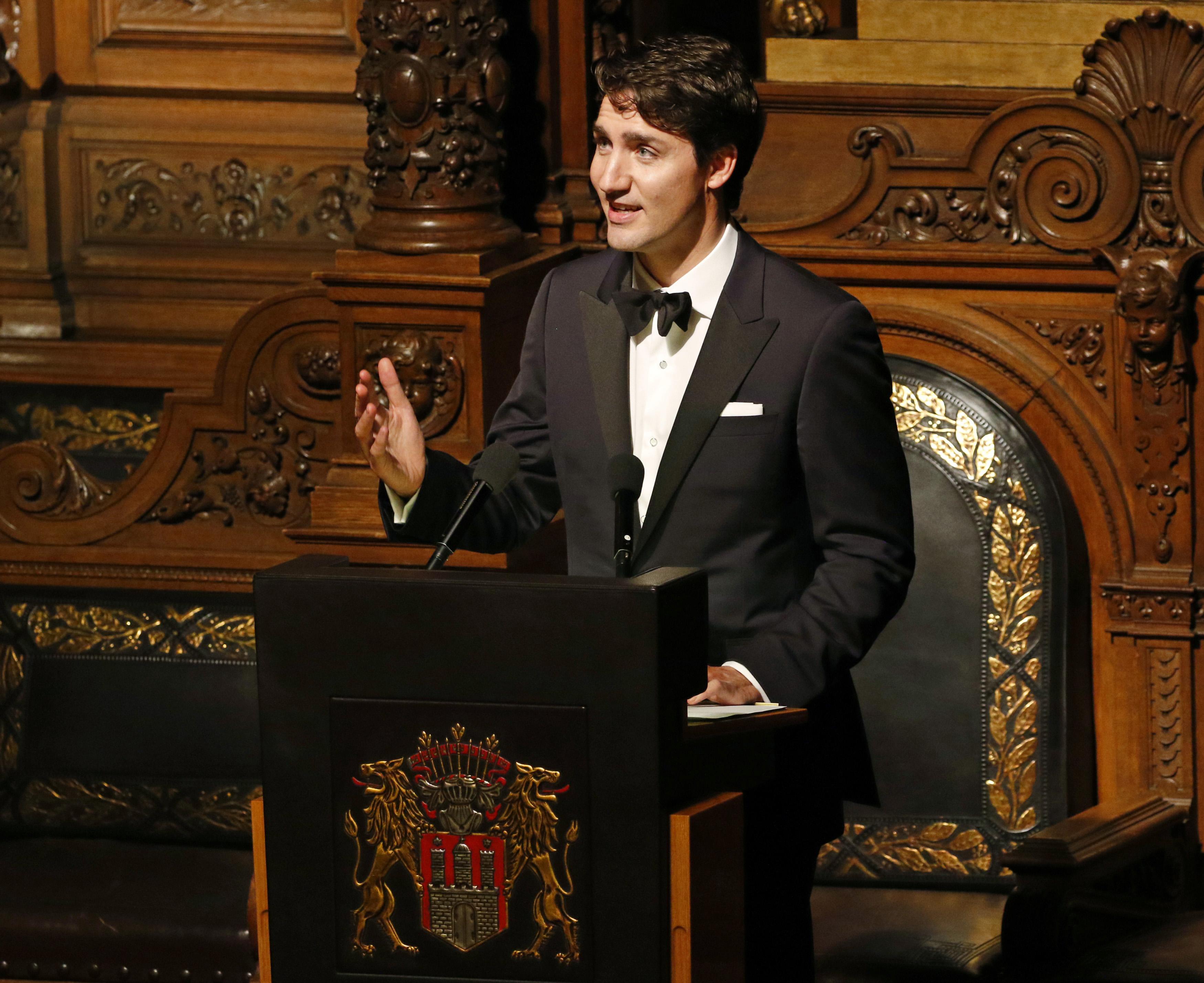 Премьер-министр Канады Джастин Трюдо. Фото: EPA