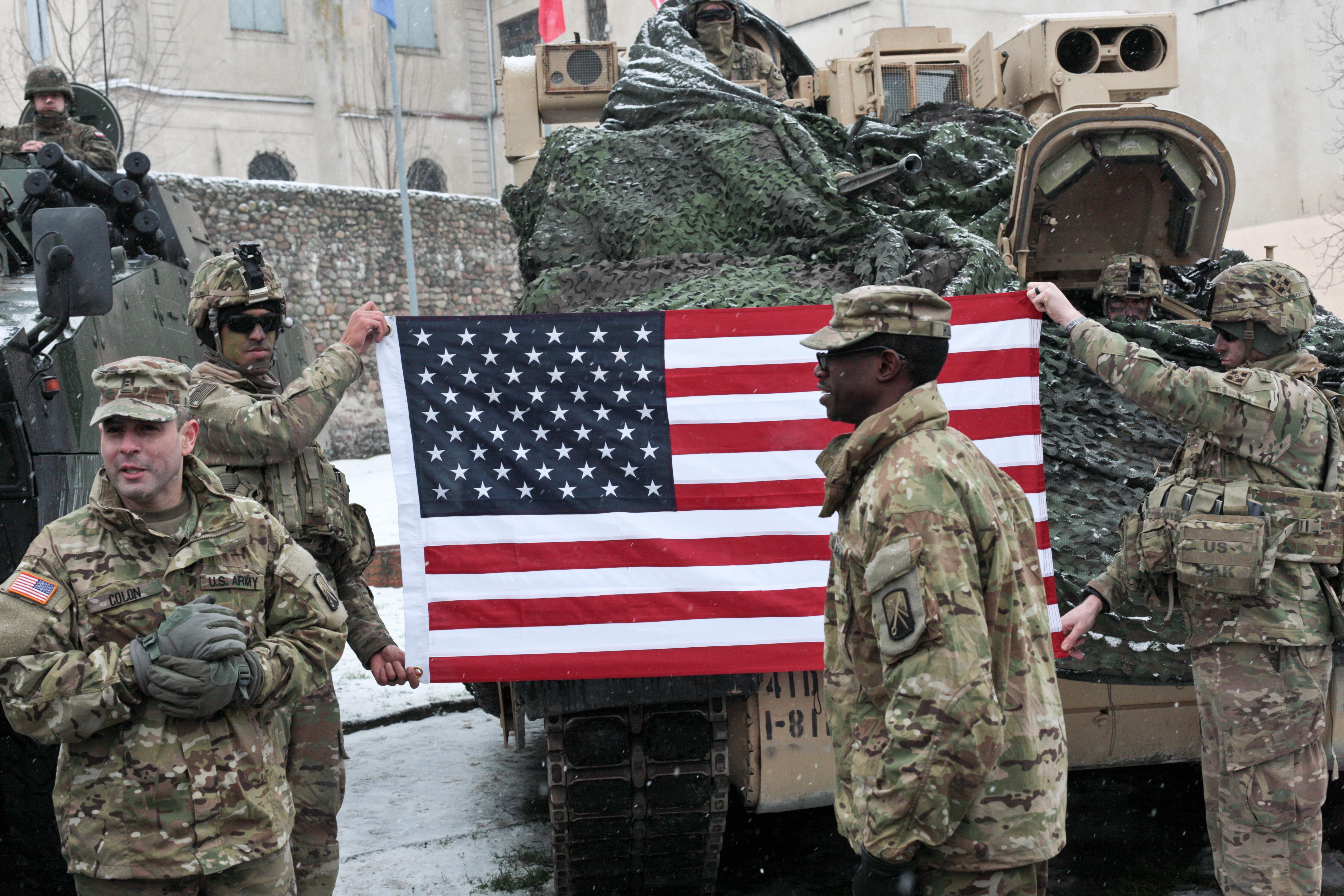 Американские военные в Польше. Фото: EPA