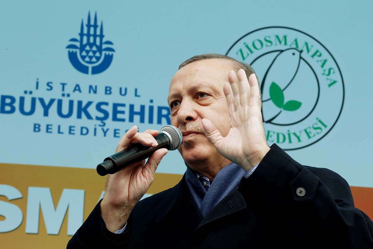 EPA/TURKISH PRESIDENT PRESS OFFICE