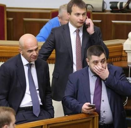 Кандидатура Березенко (в центре) могла вызвать внутренний бунт в случае ее утверждения