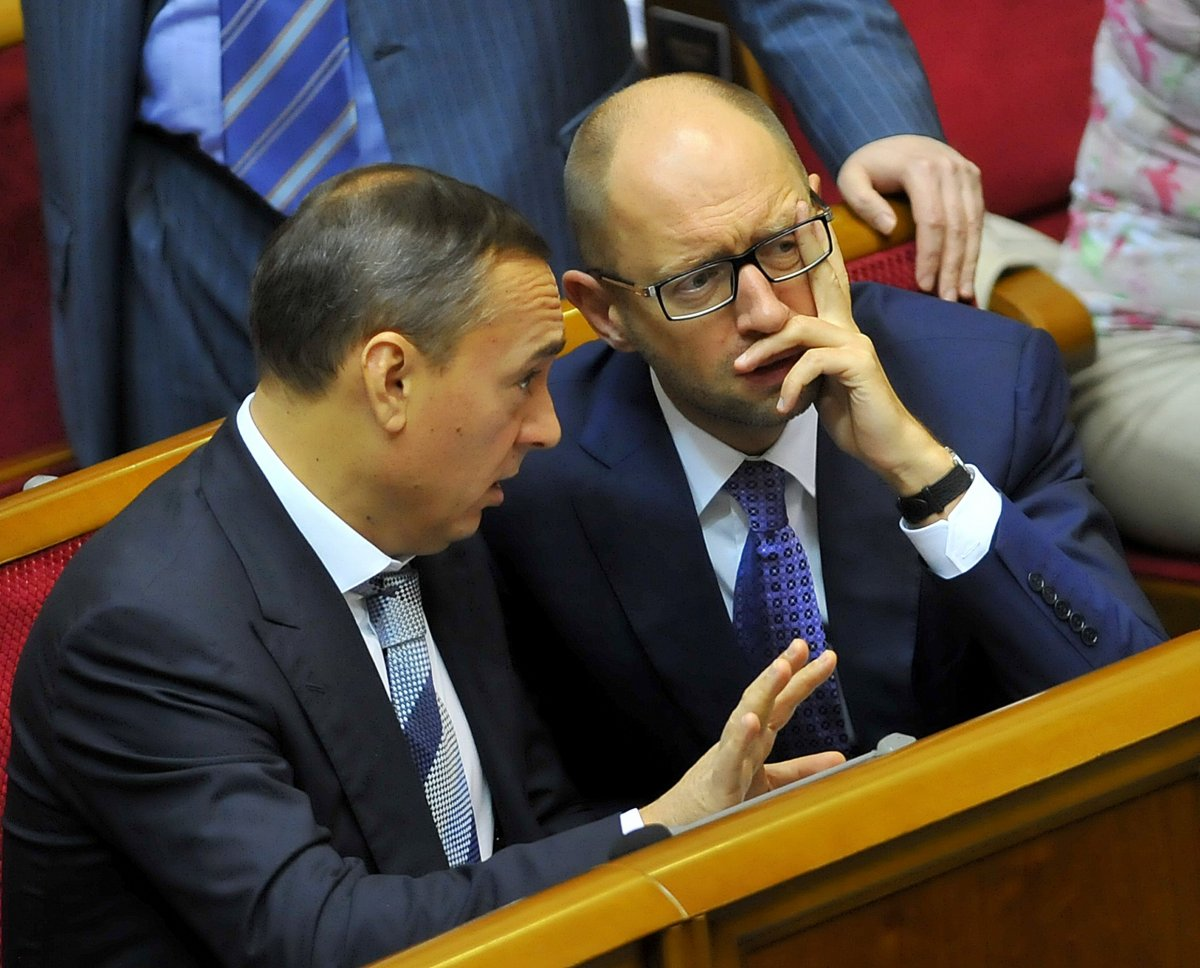 С Арсением Яценюком