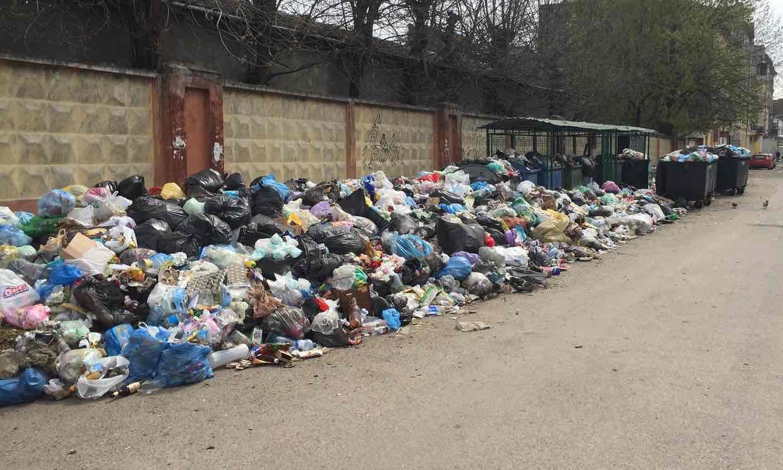 Гору львовского мусора увидели из Англии