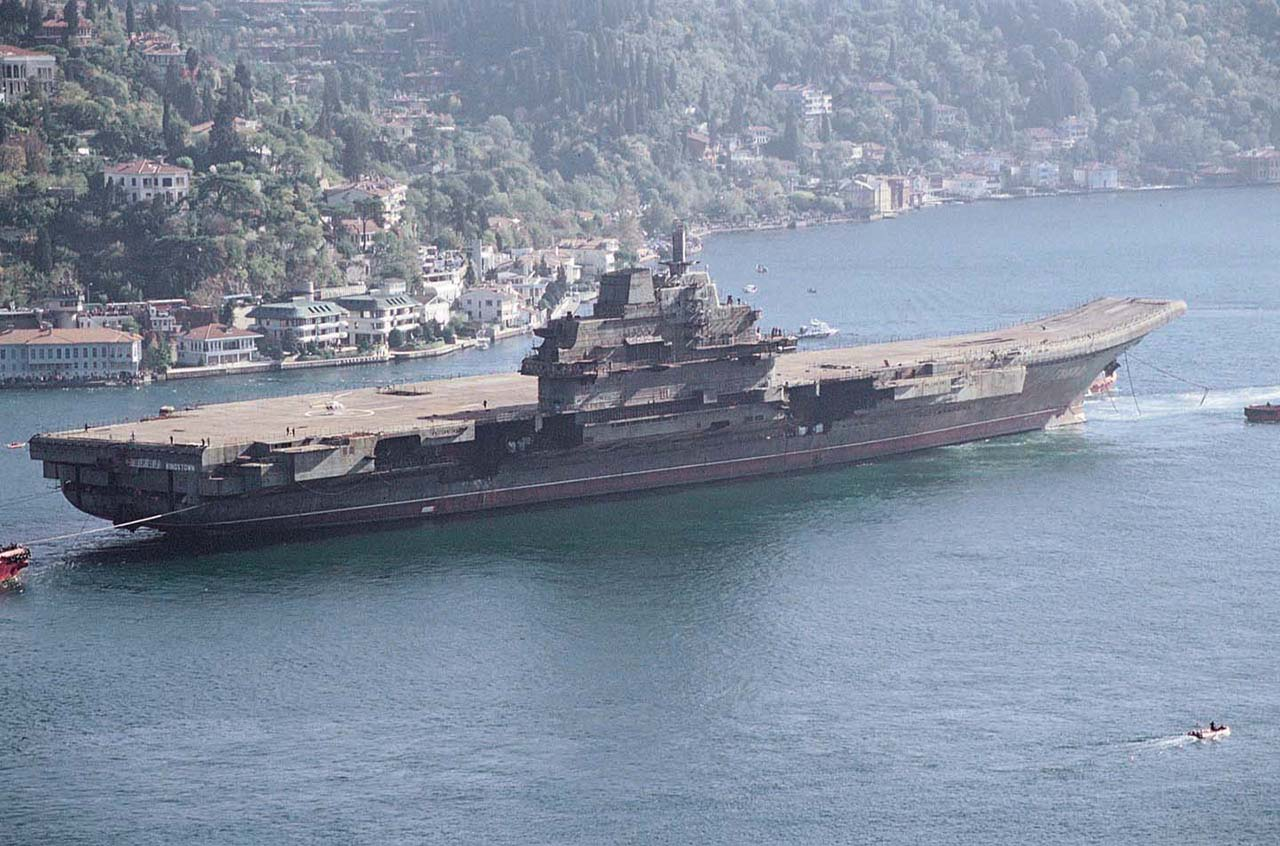 """Авианосец """"Ляонин"""". Фото: wikipedia.org"""