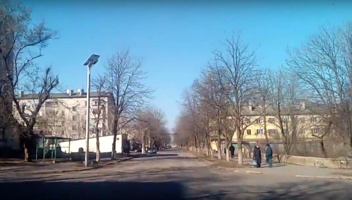Красногоровка в 2017-м. Скриншот видео