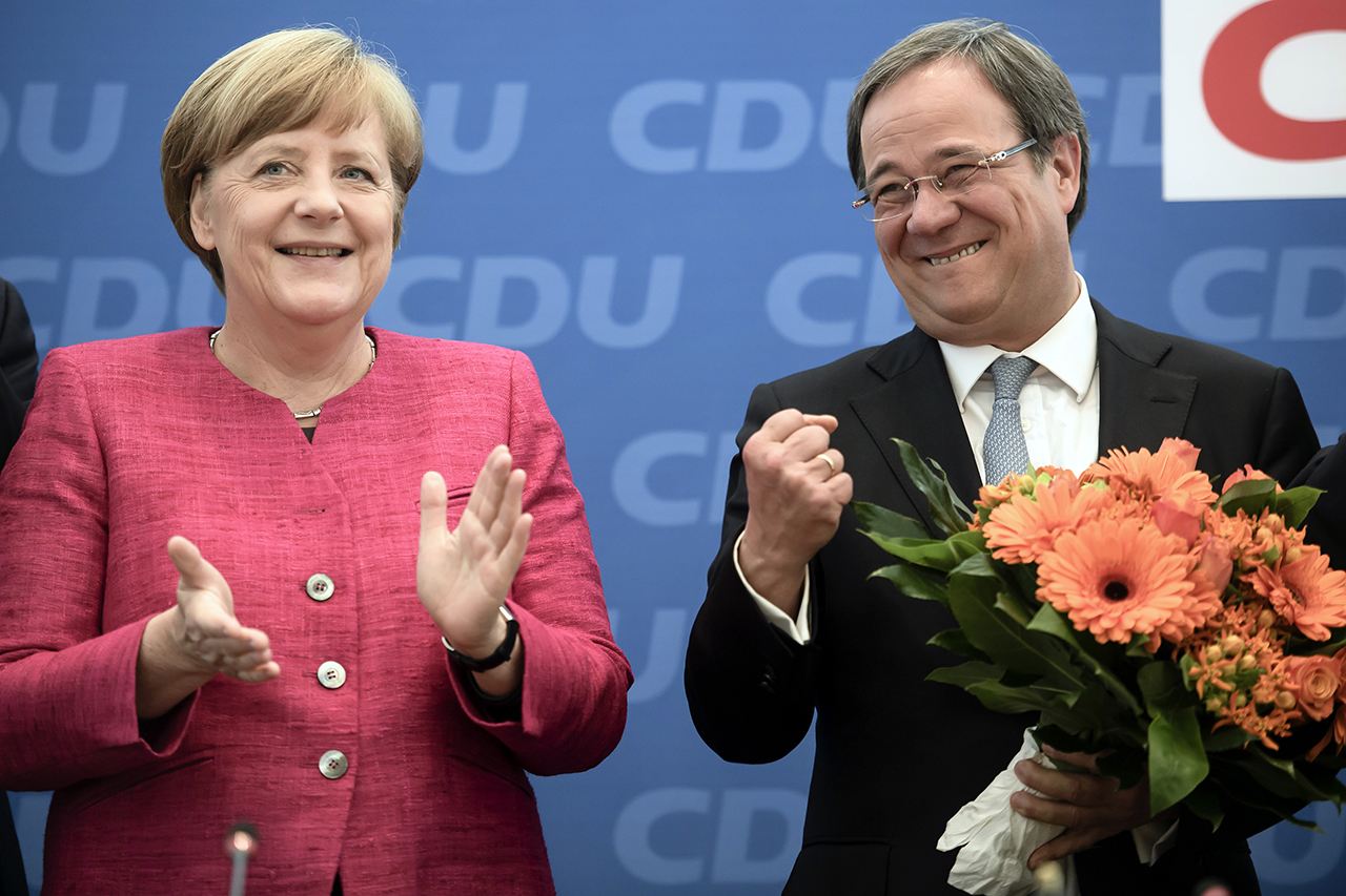 Партия Ангелы Меркель лидирует нарегиональных выборах вГермании