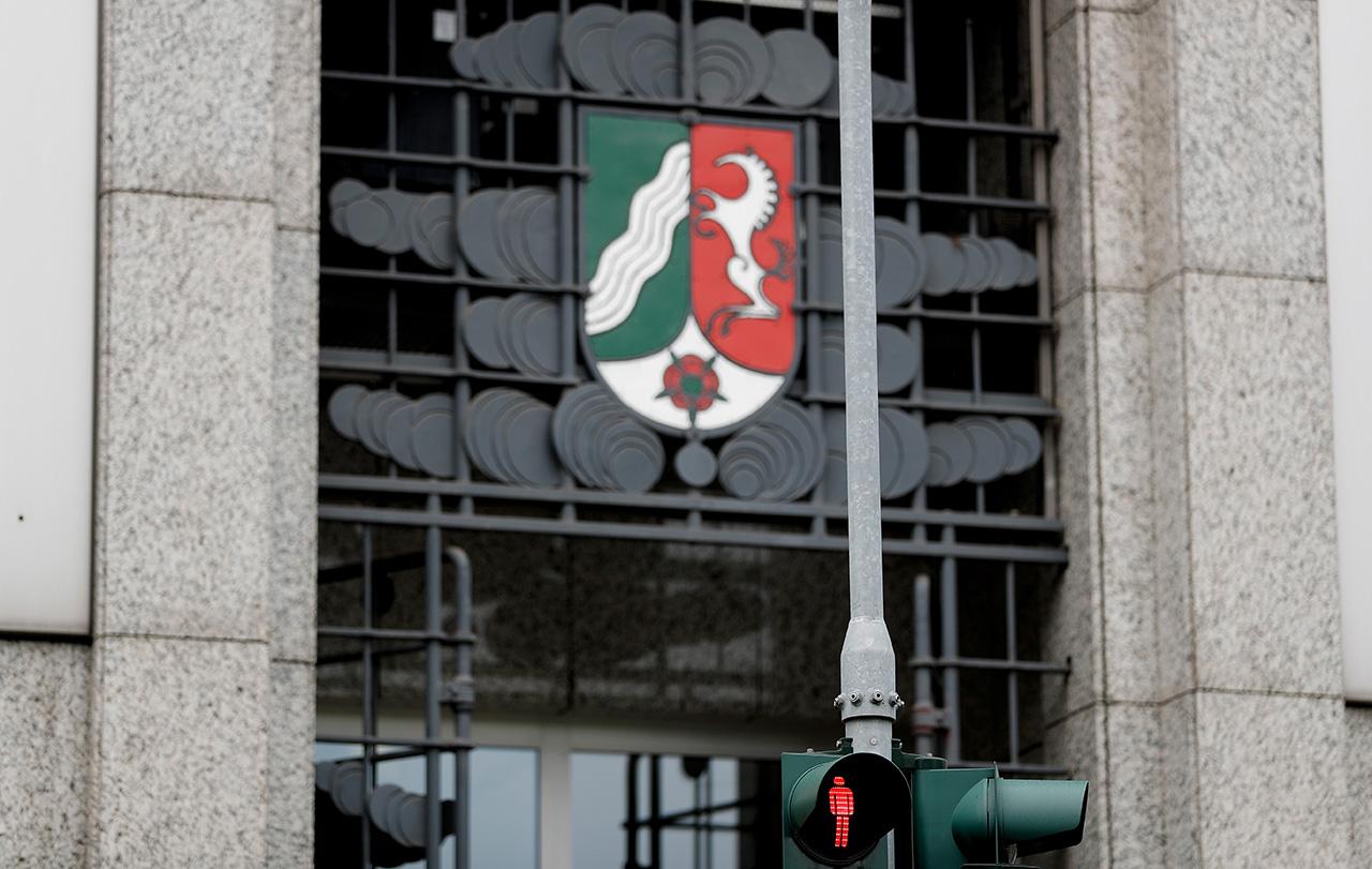Министерство финансов земли Северный Рейн-Вестфалия в Дюссельдорфе. Фото: EPA/FRIEDEMANN VOGEL