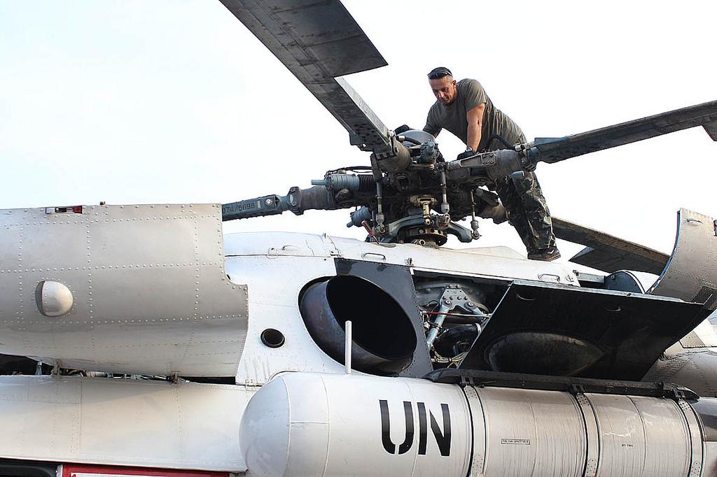 Украинские миротворцы действуют в9 интернациональных операциях вмире