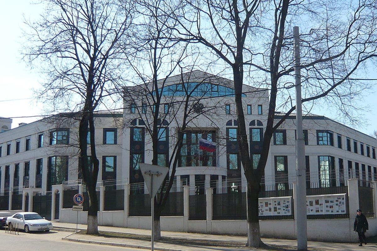 Здание посольства России в Кишиневе, Молдова