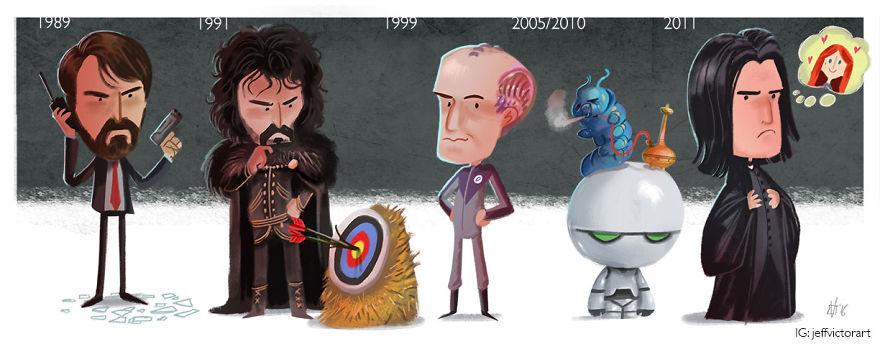 Эволюция Алана Рикмана