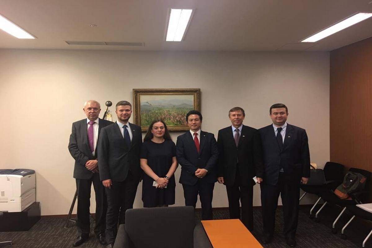 Межпарламентская группа Украина - Япония/ facebook.com