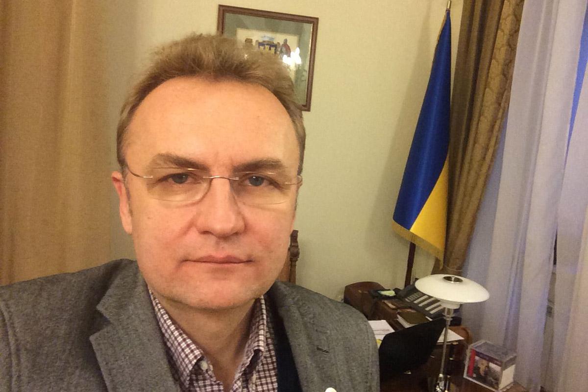 Мэр Львова Андрей Садовый