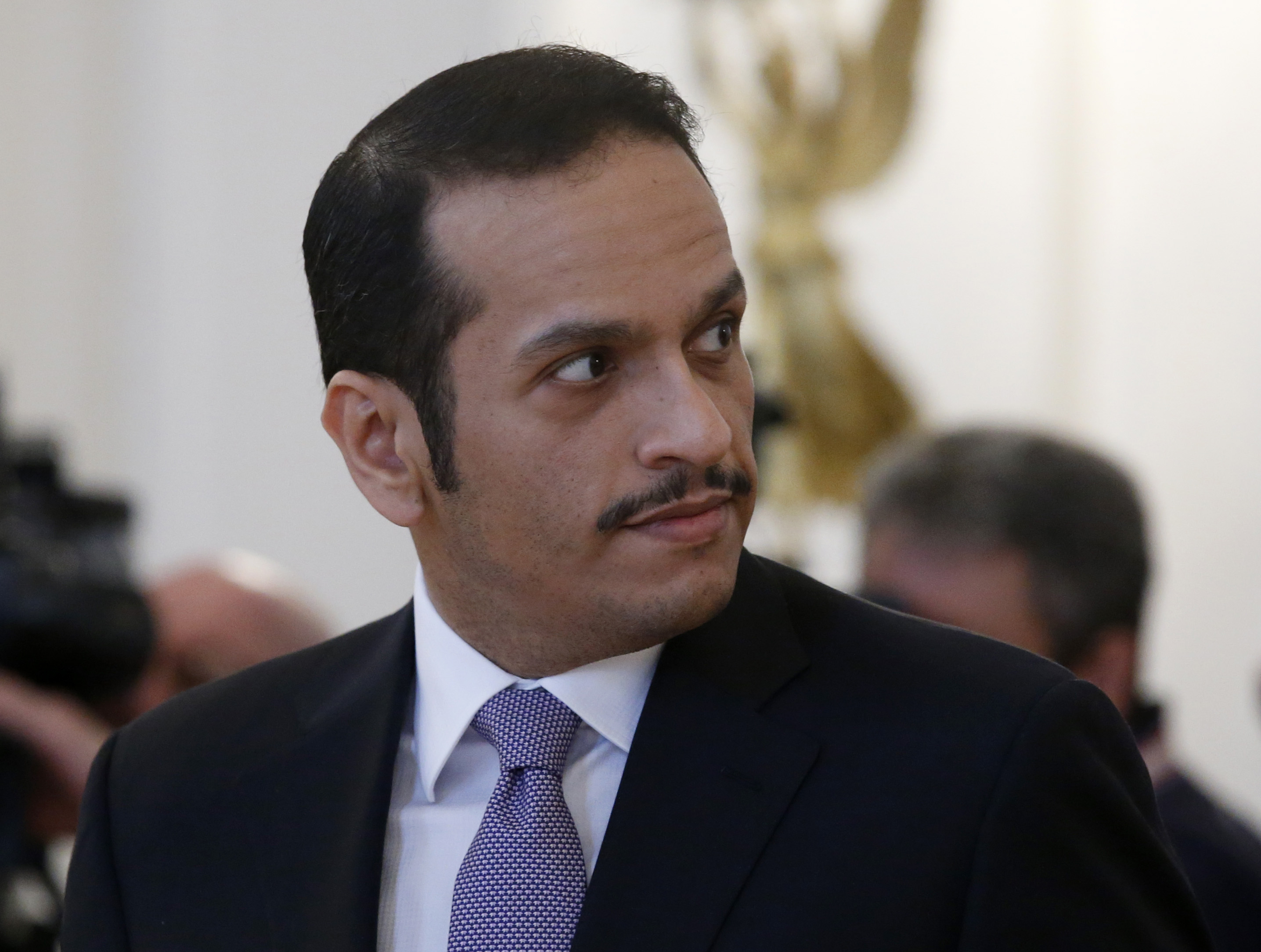 Министр иностранных дел Катара. Фото: EPA