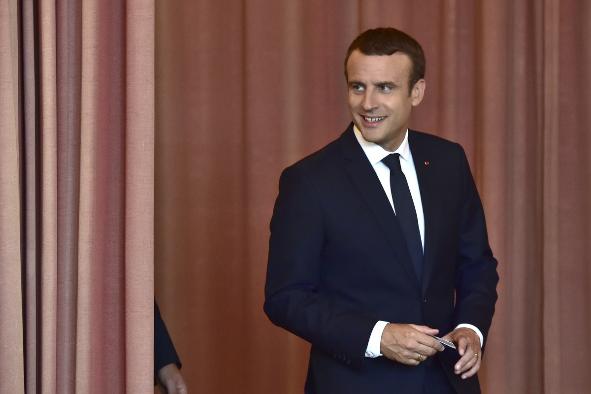 Президент Франции Эммануэль Макрон. Фото: EPA